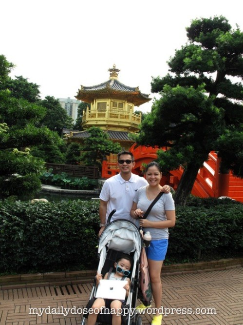 A in front of the Pagoda